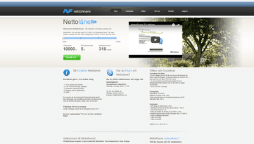 Nettofinans skärmdump
