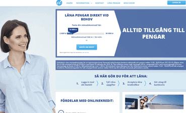 Euroloan skärmdump