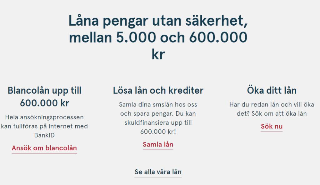 Bank Norwegian skärmdump