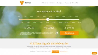 DayPay skärmdump