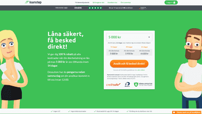Loanstep skärmdump
