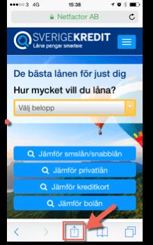 Sverigekredit mobil bild