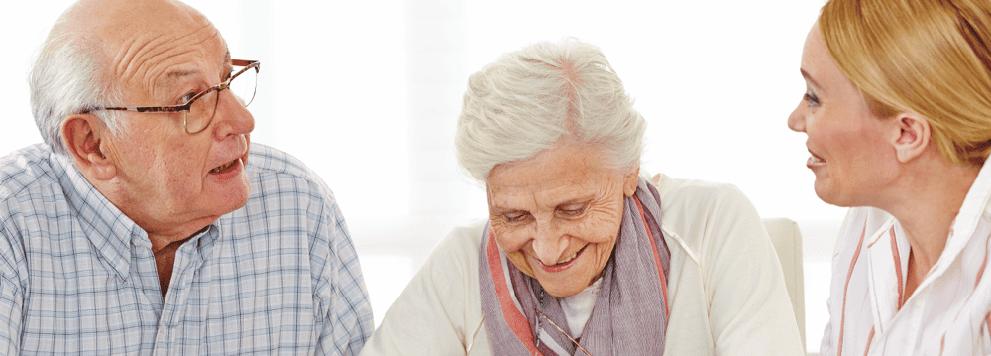 Pensionärer planerar seniorlån