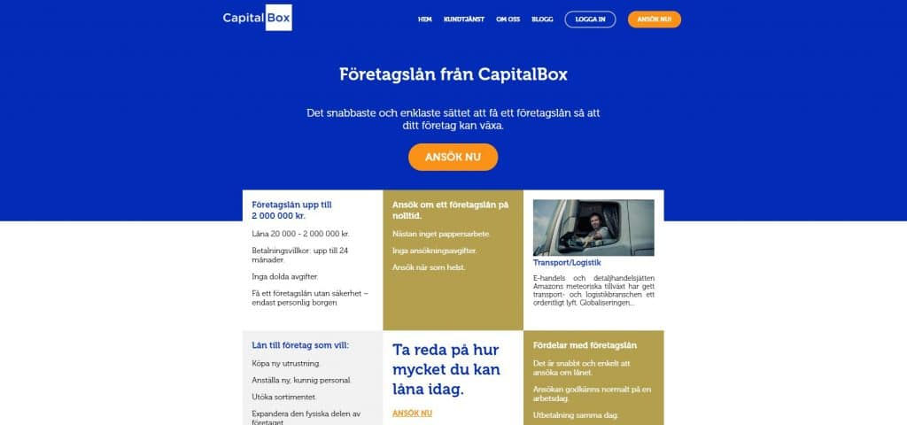 CapitalBoxskärmdump