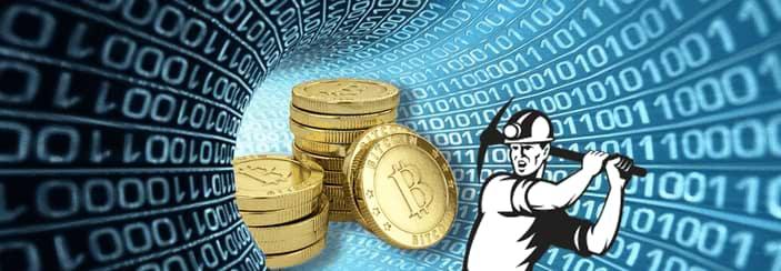 digital tunnel med virtuell valuta och bitcoin