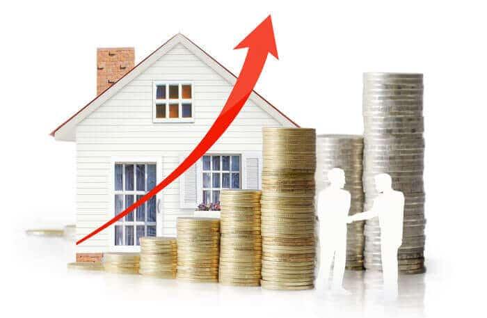 stigande bostadspriser