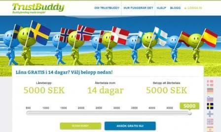 TrustBuddy skärmdump