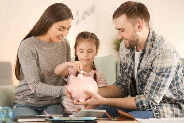 Gör en budget med hela familjen
