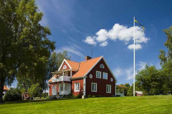 Hus med grönt bolån