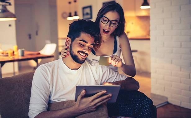 Par får bonus med kreditkort