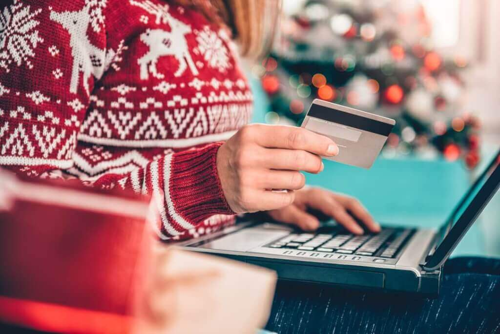 Kreditkort julshopping