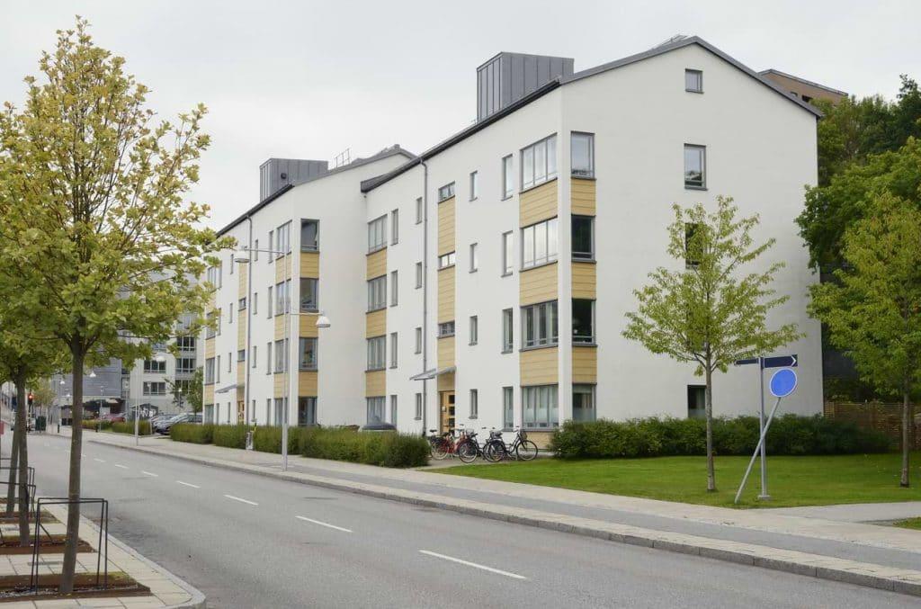 Svenskt hus med bolånetagare