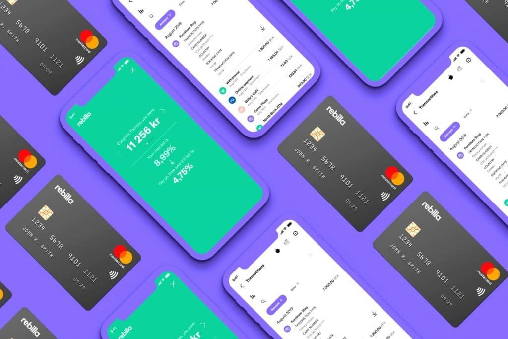 Produktbild av kreditkortet Rebilla